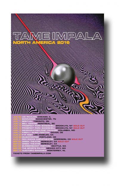 Tame Impala 2016 Poster